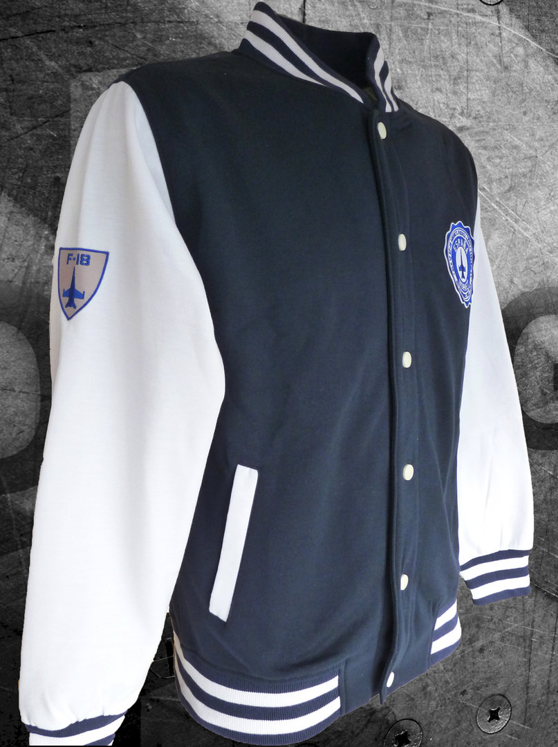12th Wing University fleece jacket