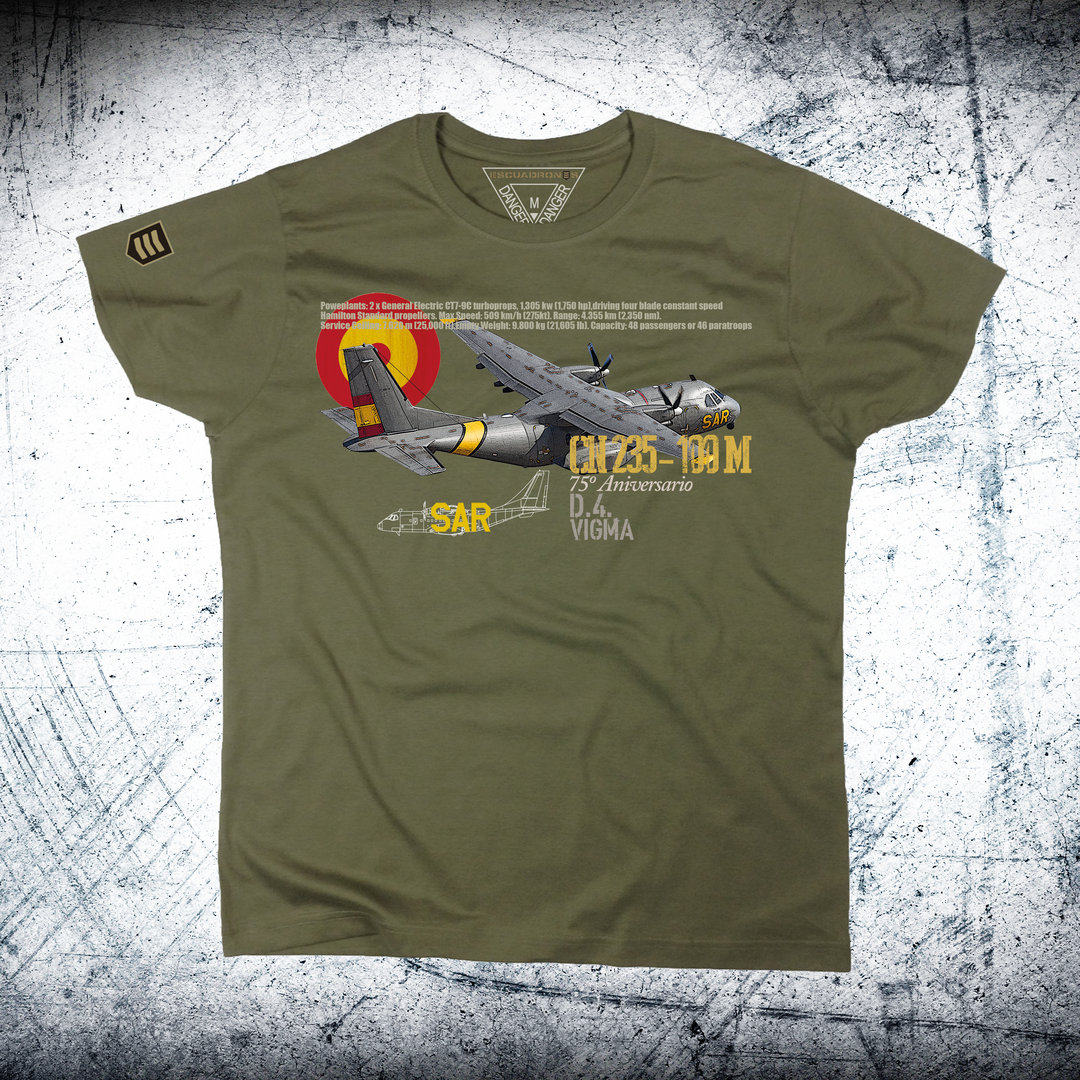 Camiseta Ala 48 Performance CN235 .