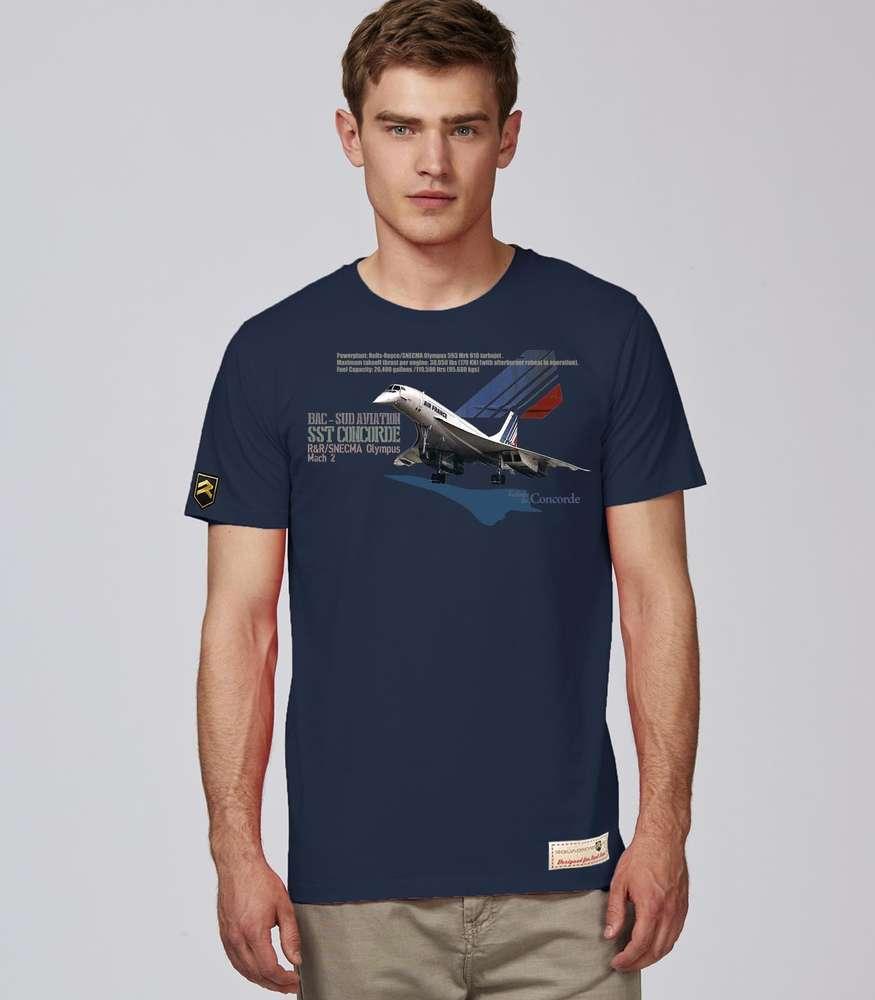 398f4756ee3dcb Concorde SST AIR FRANCE PREMIUM T-shirt