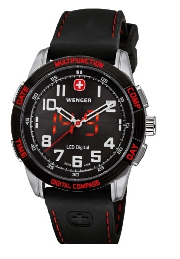 Reloj WENGER LED NOMAD 70430 (REGALO CAMISETA Ed. Especial F/A-18 Swiss Air Force)