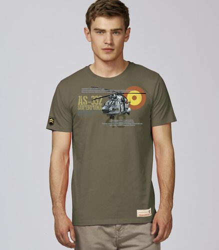 Camiseta AS-332 SUPERPUMA HELISAF PREMIUM.