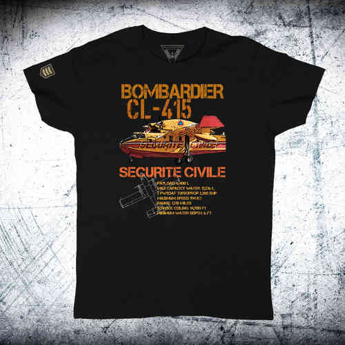 BOMBARDIER CL-415 SECURITE CIVILE Ordnance T-Shirt