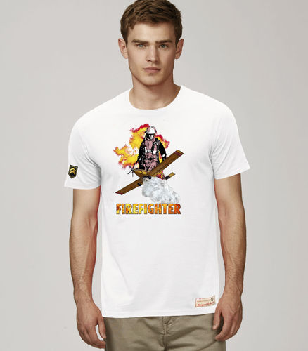Camiseta AIR TRACTOR FIREFIGHTER PREMIUM