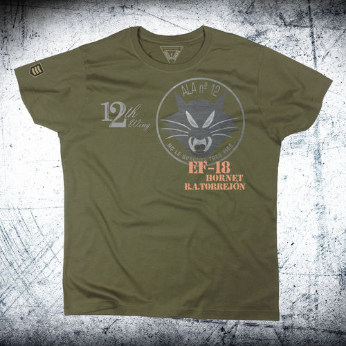 Cat 12th wing Torrejon Air Base T-shirt