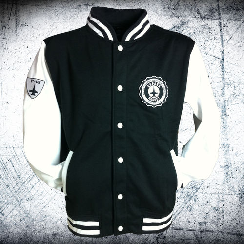 15th Wing University fleece jacket