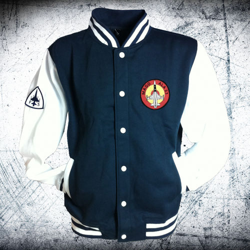 MAGO 23th Wing University fleece jacket
