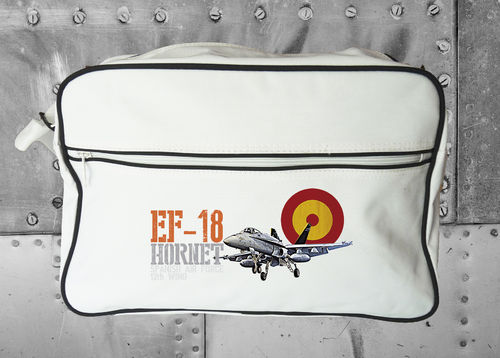 RETRO BAG EF-18 HORNET 12th WING