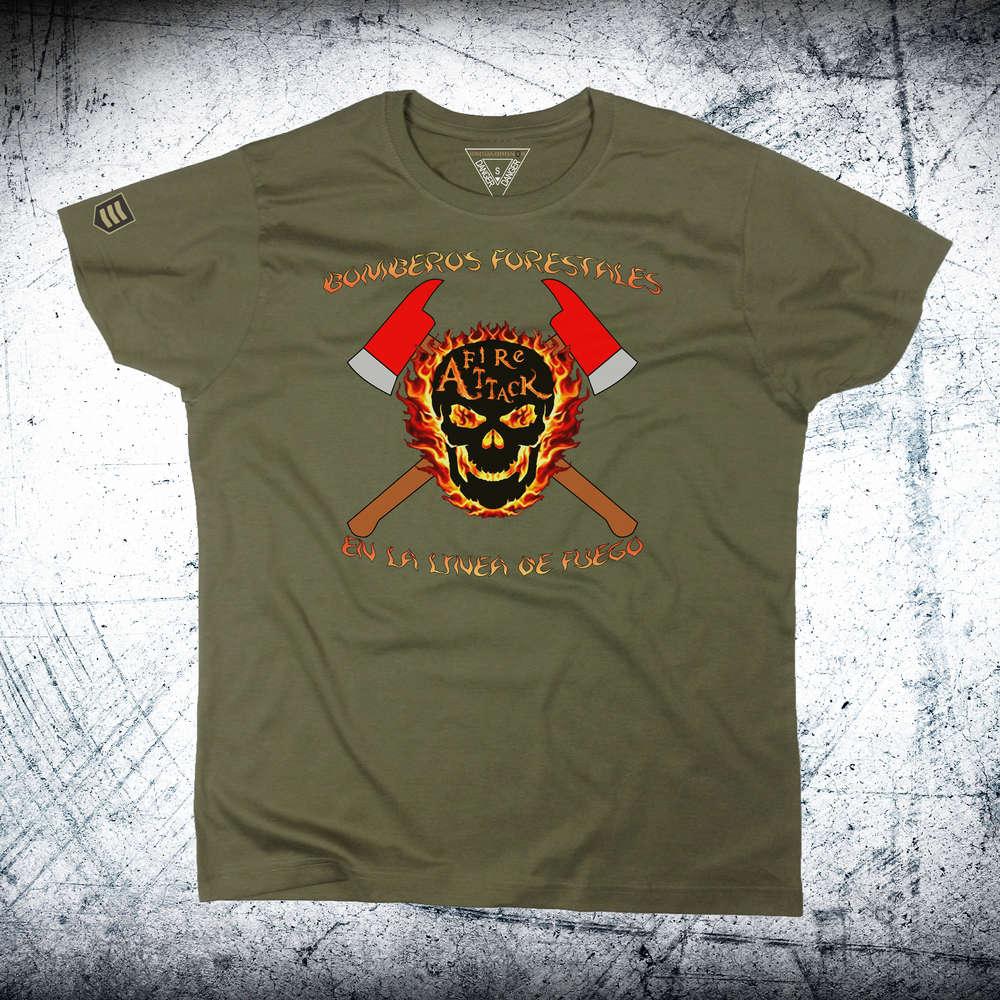 3430824eaf551 Camiseta Bomberos Forestales