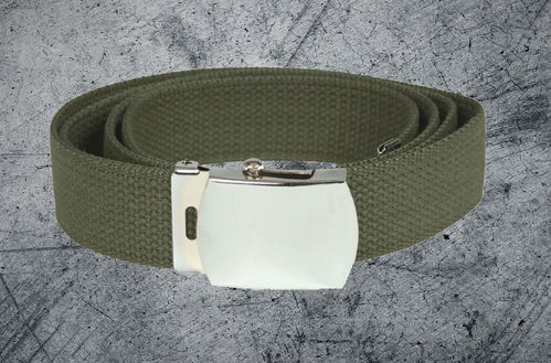 MILITARY COTTON WEB BELT