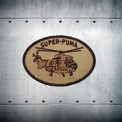 SUPER PUMA EMBROIDERY PATCHES