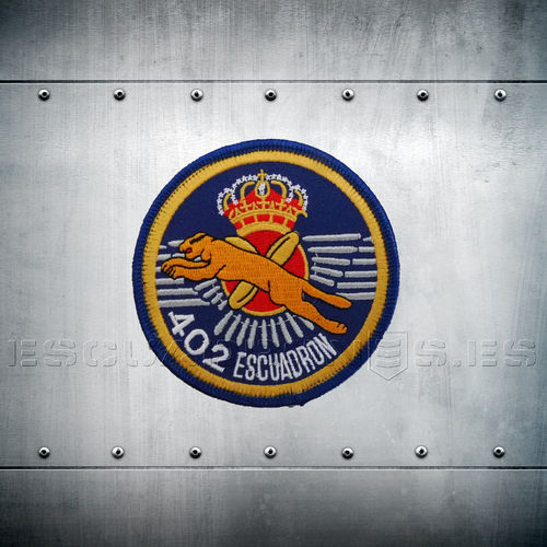 402 SQD EMBROIDERY PATCHES