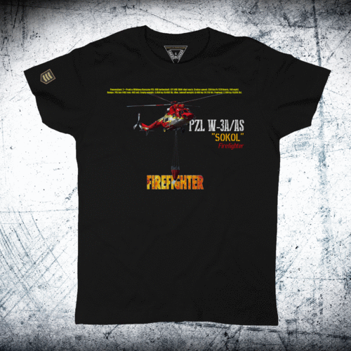 FIREFIGHTER helicopter Sokol W-3A/AS T-Shirt