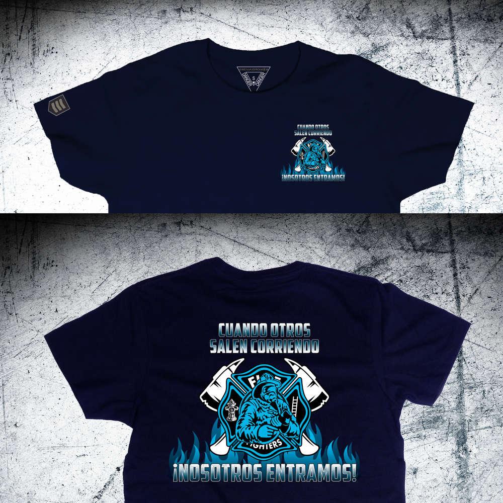 8dd33908e0c33 Camiseta Bomberos