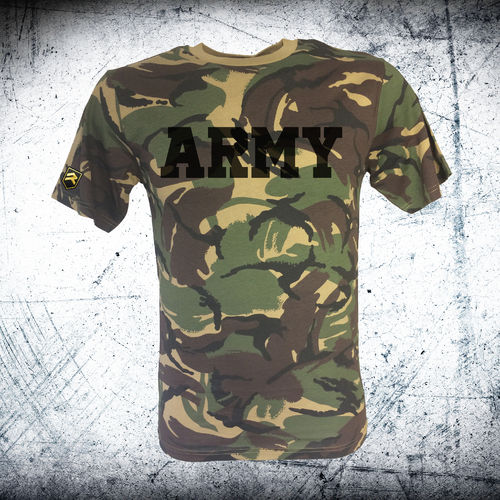 British ARMY Camo T-Shirt