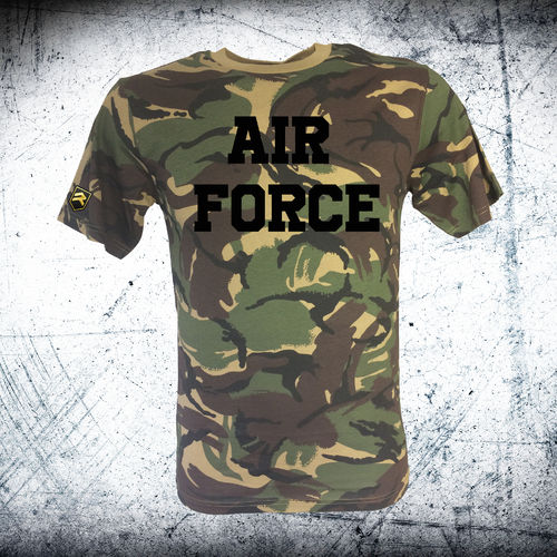 British AIR FORCE Camo T-Shirt