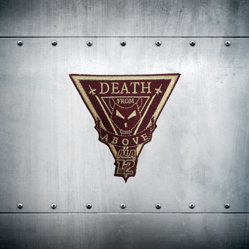 Parche DEATH FROM ABOVE ALA 12 con velcro