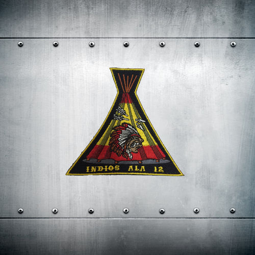 INDIOS ALA 12 velcro back patch