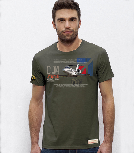 Camiseta PREMIUM CJ4 Citation Performance