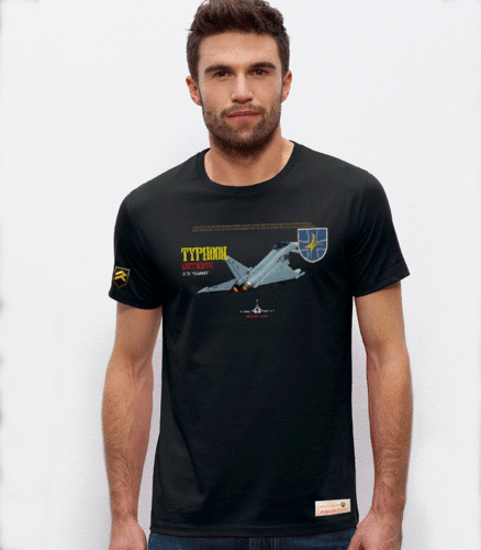Camiseta militar PREMIUM Performance JG 73 Typhoon Luftwaffe