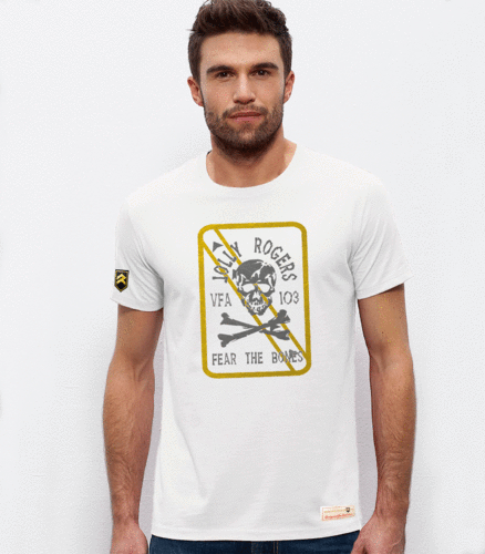 Jolly Rogers VFA 103 military T-shirt