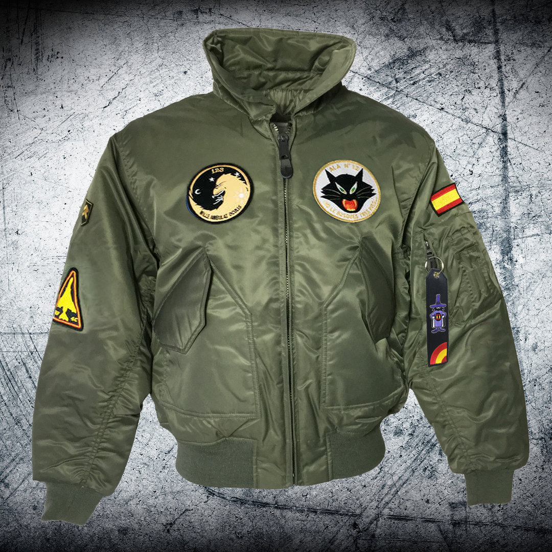 RF-4C Phantom 12th Wing olive CWU Pilot jacket