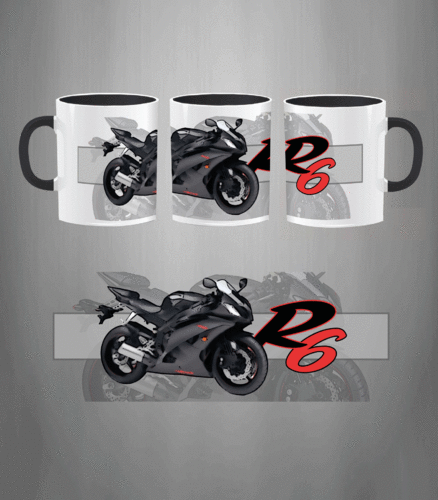 Taza YAMAHA R-6 Model