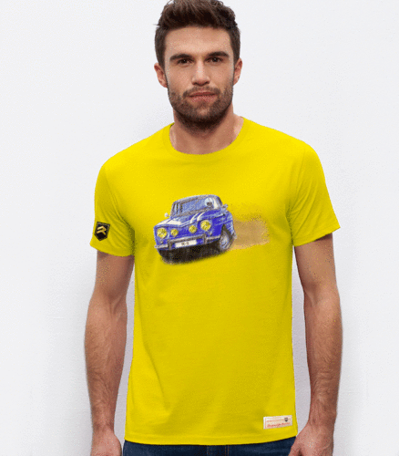 Camiseta Renault R-8 smoking