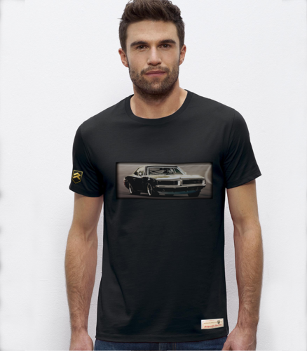 Camiseta DODGE Charger R/T black series