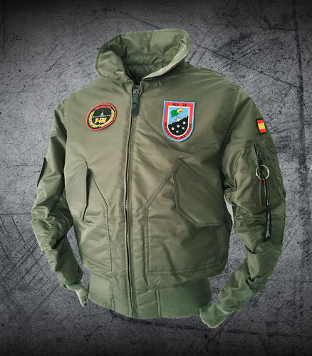 F-5M 23 rd. Wing instructor pilot green flightjacket