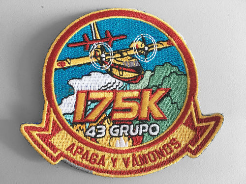Embroidered patch 43 group 175K
