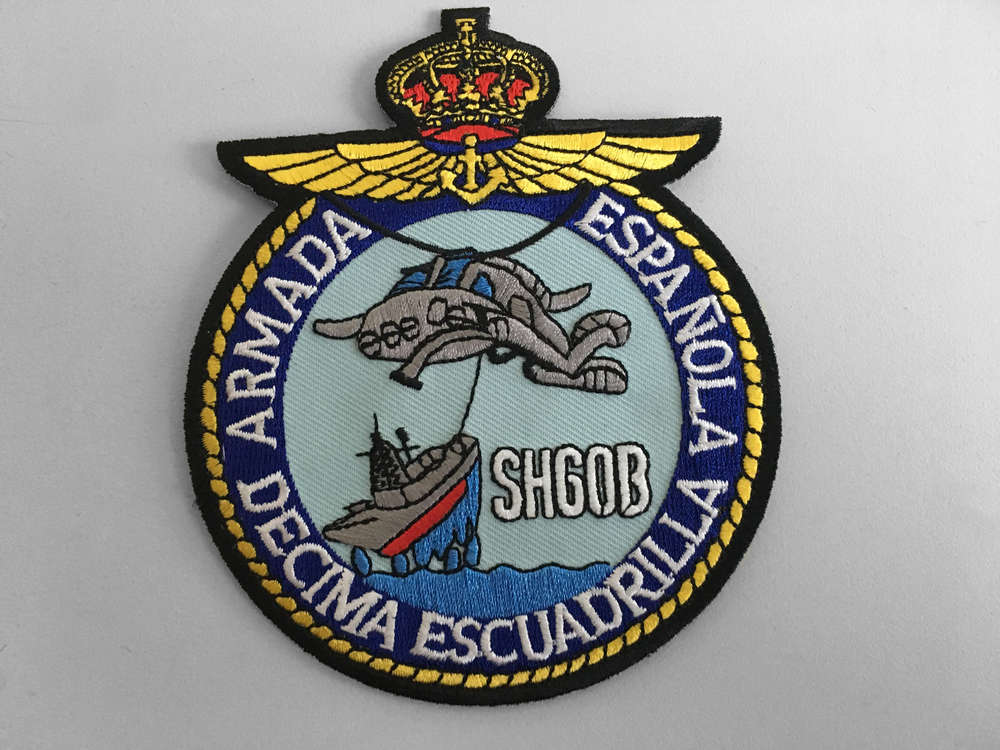 Embroidered Patch Sh 60b Tenth Squadron Of The Navy With
