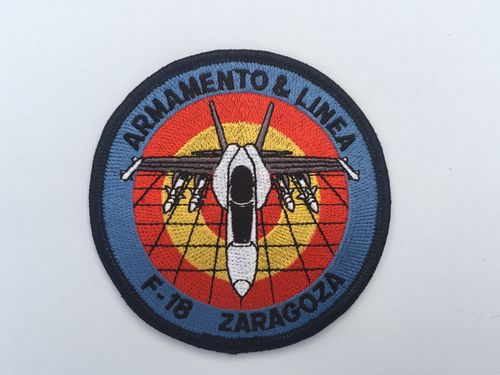 Embroidered patch ALA 15 Ordnance team . Iron sticky back