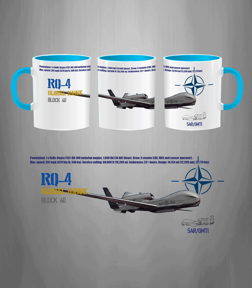 Global Hawk NATO Mug