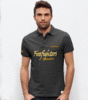 Embroidered polo Canadair Firefighters with frontal print.""