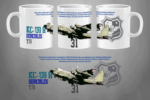 HERCULES KC-130H 31th wing Mug