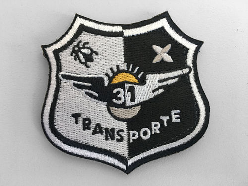 31th wing TRANSPORTE Colour Patch