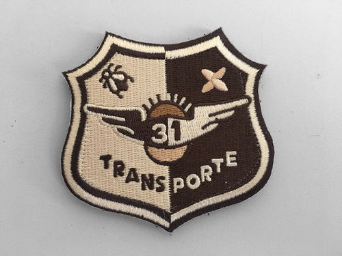 31th wing TRANSPORTE Arid Patch