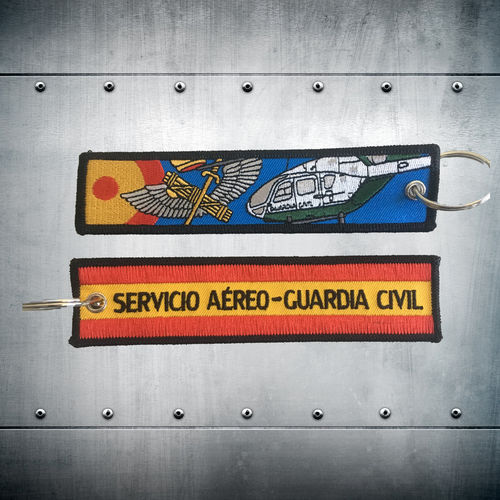 Llavero Servicio Aéreo Guardia Civil