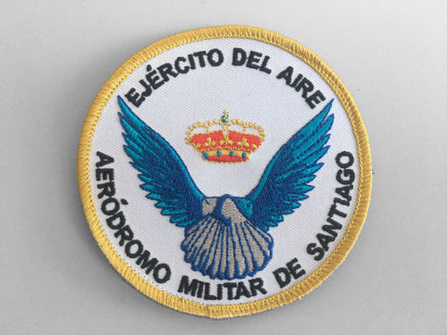 Military Aerodrome of Santiago Embroidered Patch