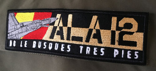 12th Wing PREMIUM Patch