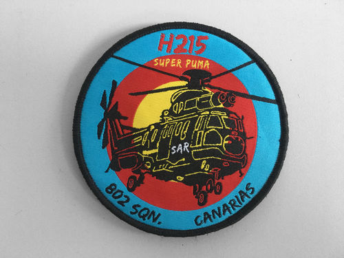 802 SQN Superpuma H215 Patch