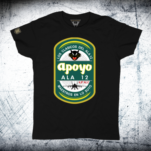 Military T-Shirt Equipo de Apoyo 12th Wing
