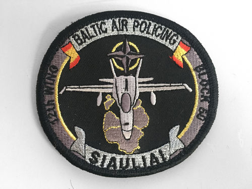 12th Wing OVAL BALTIC DEPLOYMENT Patch
