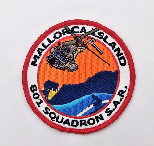 Mallorca Island Superpuma 801 Sqn. Patch