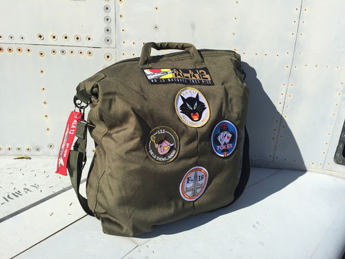 12Th wing Pilot Bag Olive