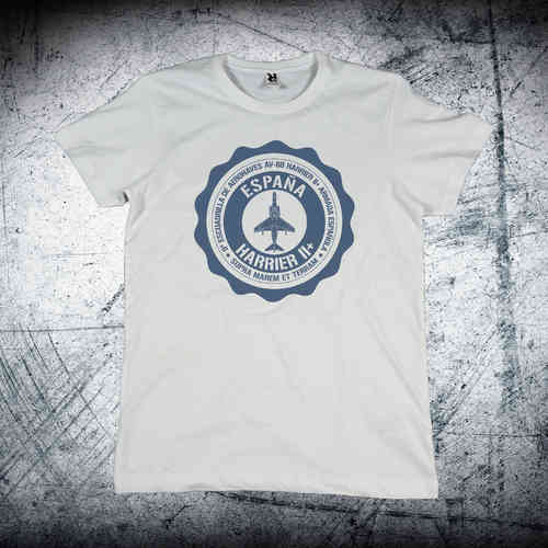 9ª Escuadrilla blue medallion T-shirt
