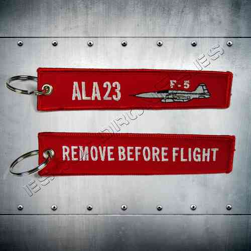 23th wing F-5 Key Chain
