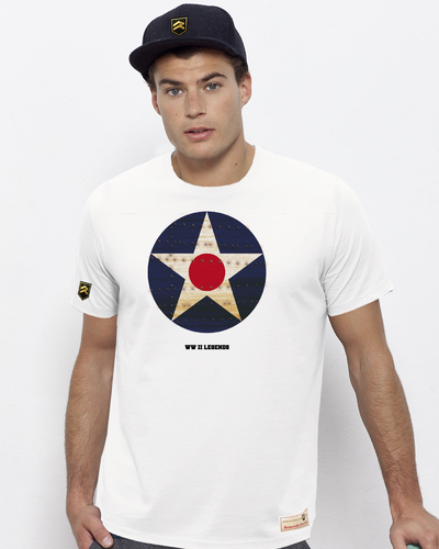 Camiseta Militar WWII LEGENDS RETRO I USA PREMIUM