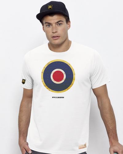 Camiseta Militar WWII LEGENDS RETRO RAF PREMIUM