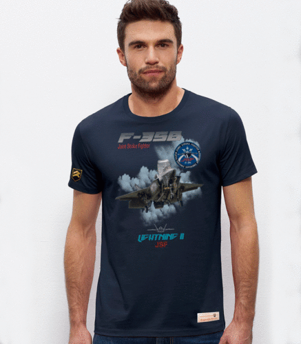 outlet XL navy blue F-35 B T-Shirt